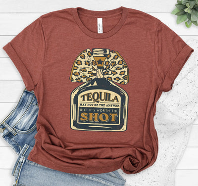 PREORDER Tequila is Worth a Shot Tee