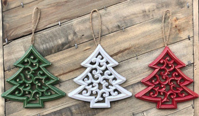 Christmas Tree Ornament- 3 Pack