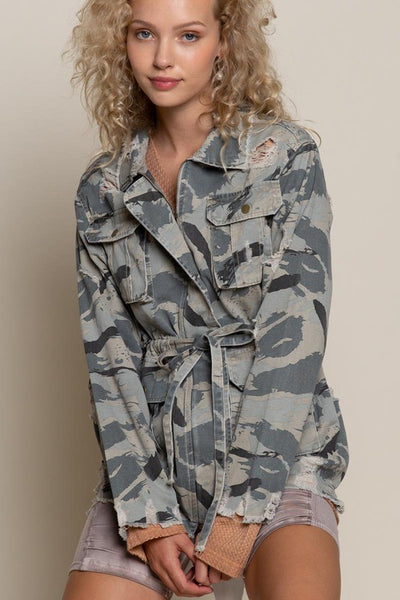 Sweet and Camo Jacket