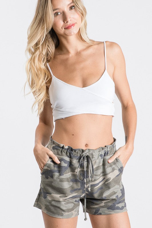 Lounge Shorts - Grey Camo