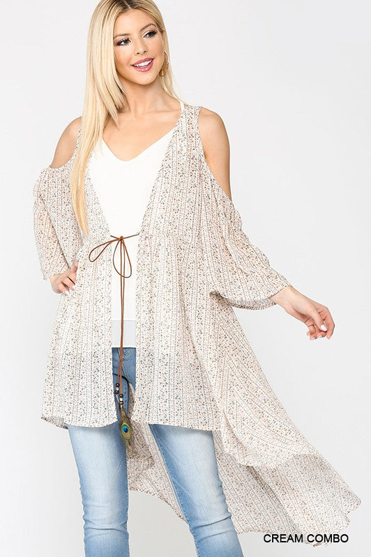 Lucky Feather Cardigan- Cream