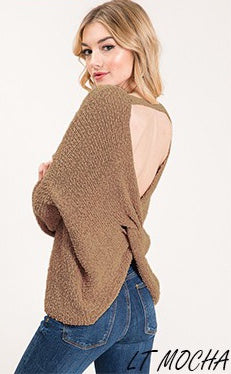 Bringing Sexy Back Sweater- Mocha
