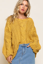 Cable Knit Cutie