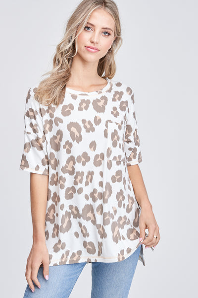 Fierce Leopard Tee