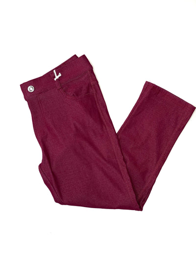 Jegging Capri- Wine