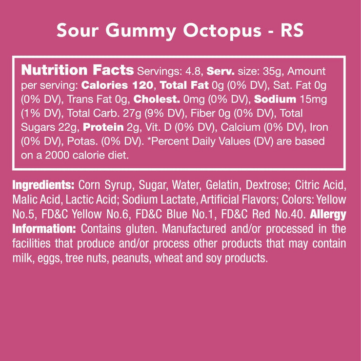 Sour Gummy 🐙 Octopus