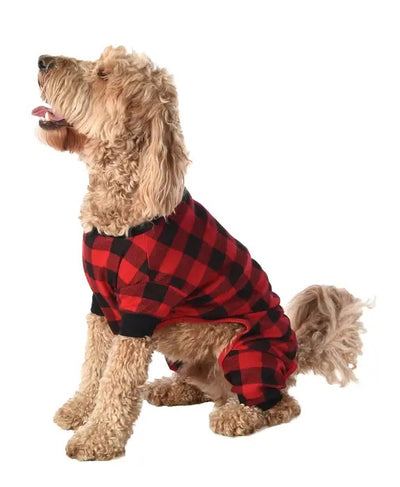 PREORDER Moose Plaid Family- Dog Onesie