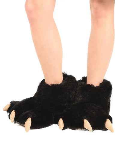 PREORDER Moose Plaid Family- Paw Slippers
