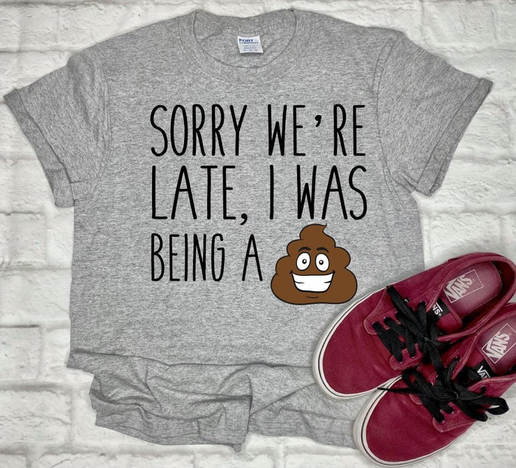 PREORDER Sorry We're Late KIDS Tee