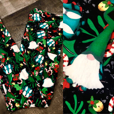 KIDS Gnome Christmas Leggings