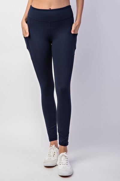 Best Leggings Ever - Midnight with Pockets!