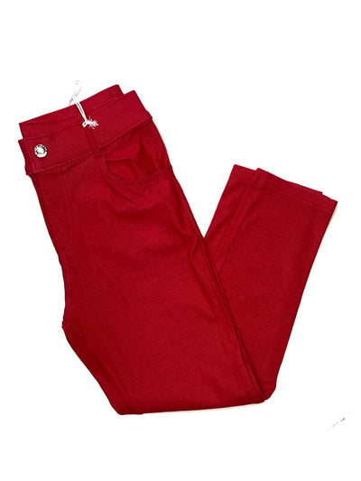 Jegging Capri- Red