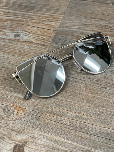 Retro Silver Sunnies