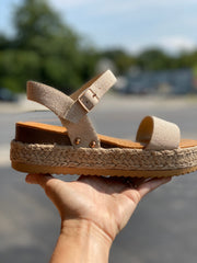 Bamboo Sandals- Sand