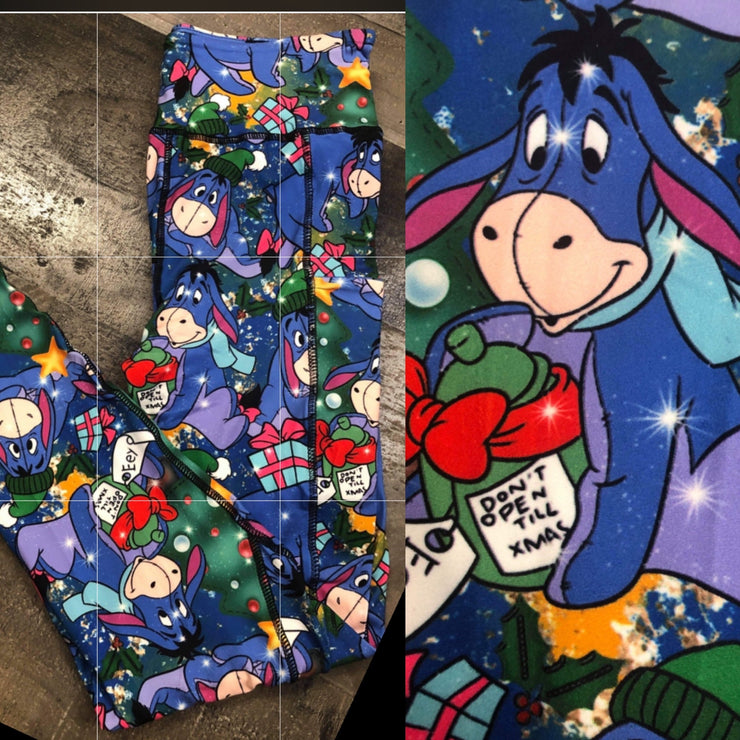 KIDS Eeyore Christmas Leggings
