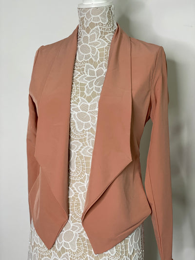 Ready for the Runway Blazer- Rose