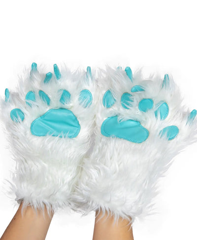 PREORDER Yeti For Bed- Paw Mittens