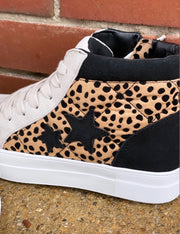 Cheetah High Top Sneakers