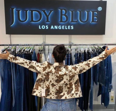 Ride a Cowboy Judy Blue Denim Jacket