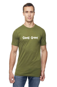 Men's Viscose Hemp ORGANIC Cotton Tee - Going Green