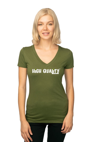 Womens Viscose Hemp Organic V Neck - High Quality