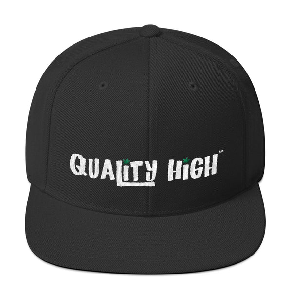 Snapback Hat - Quality High - Weed