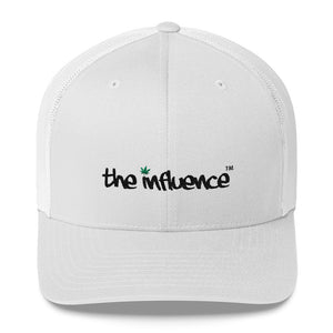 "Trucker Cap - be UNDER ""the influence"" - Weed"