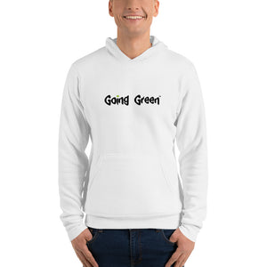 Men's Hoodie - Going Green - Weed