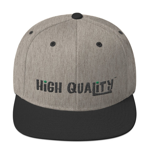 Snapback Hat - High Quality - Weed