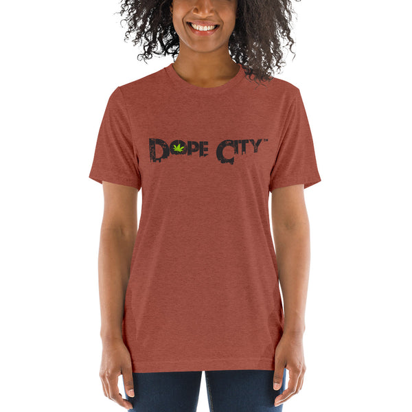 Short sleeve t-shirt - Dope City - Weed