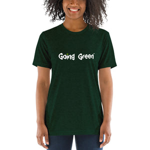 Short Sleeve T-shirt - Going Green - Weed