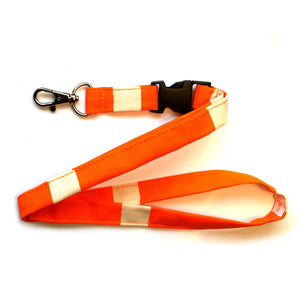 Lanyard / Nyckelband - Orange Rand