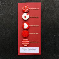 Hair pin 5 pcs / 5pack hårnålar