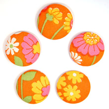 Load image into Gallery viewer, Refrigerator magnets / 5pack magneter - Orange