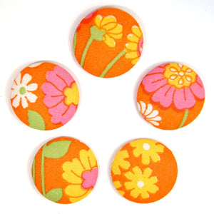 Refrigerator magnets / 5pack magneter - Orange