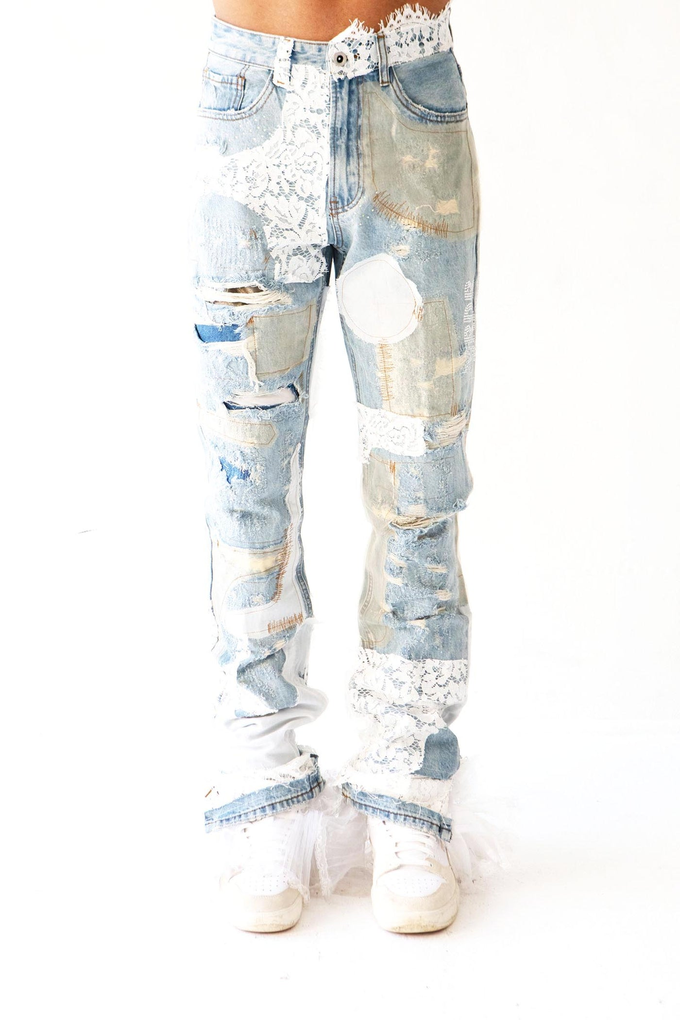 ALTAR LACE DENIM