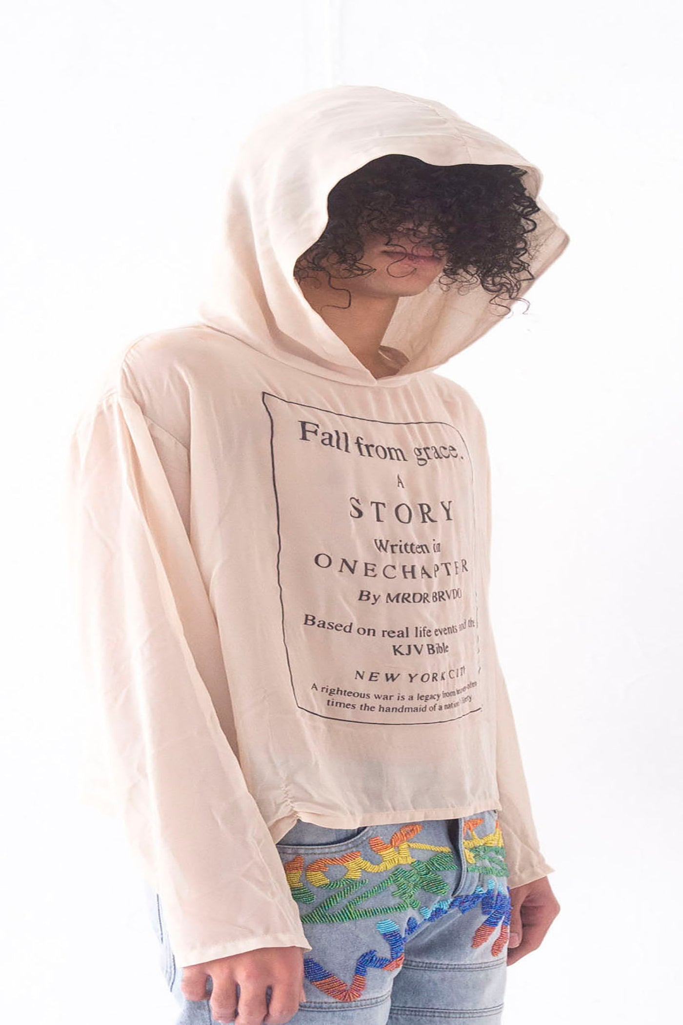 FALL FROM GRACE CHIFFON HOODIE