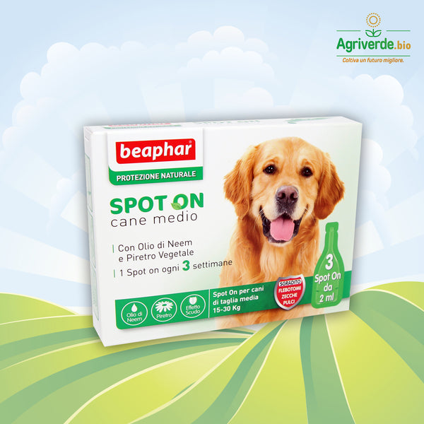 Protezione Naturale Spot On Cane Medio 15-30 kg 3 pipette