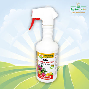 Olio di Lino Pronto all'uso contro Cocciniglia Barriera Naturale 500 ml