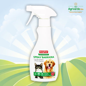 Spray Barriera Antiparassitario Naturale Olio di Neem e Piretro 250 ml