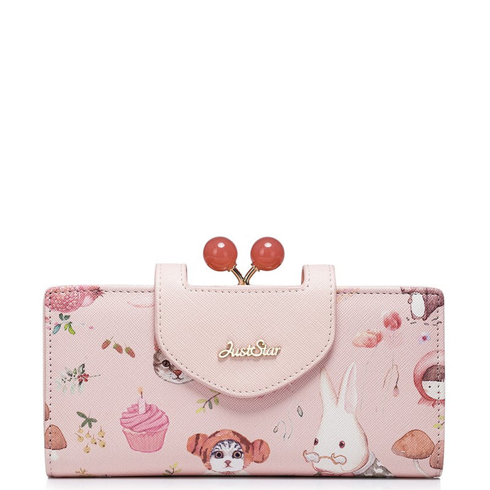 Pink Afternoon Tea -Wallet - Bag Topic