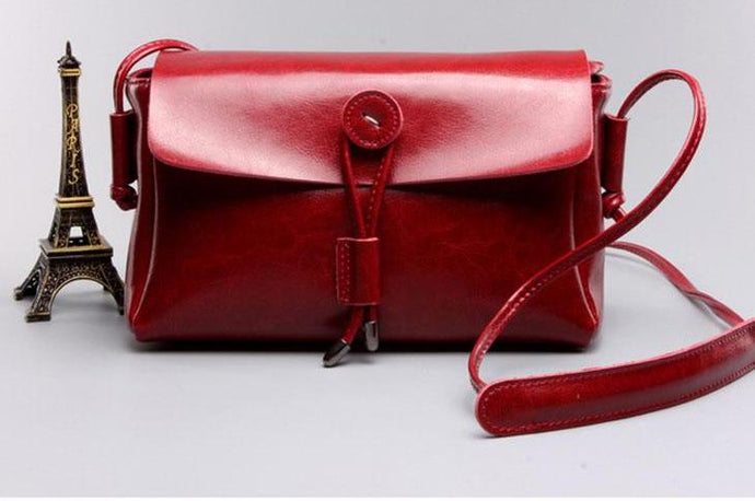 Vintage Style Crossbody Bags-Red