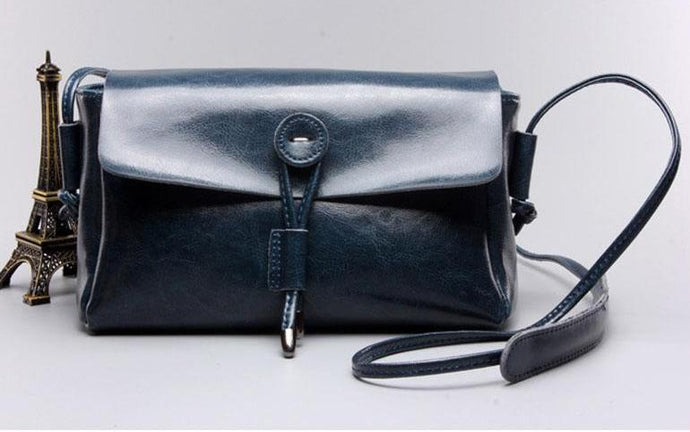 Vintage Style Crossbody Bags-Blue