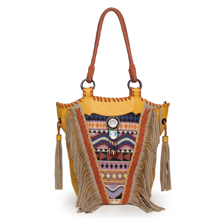 Hippies Tassels shoulder bag