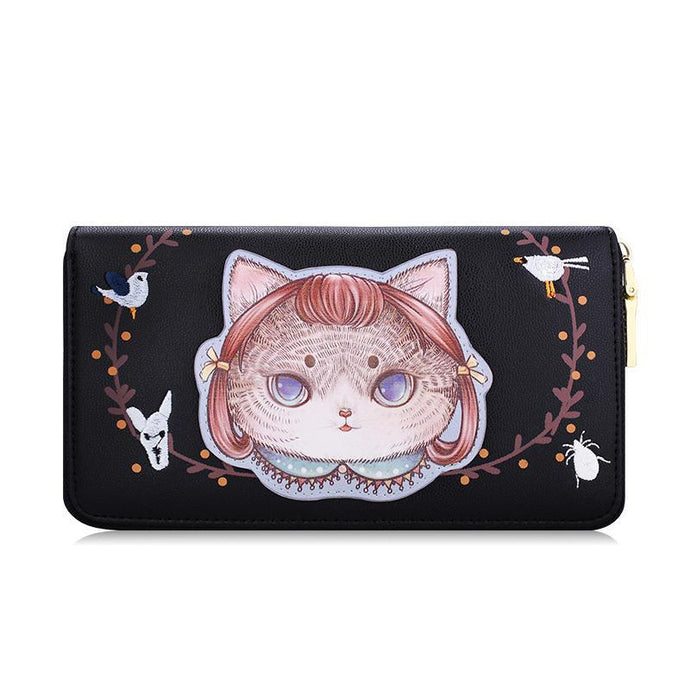 MS Kitty Wallets- Black - Bag Topic