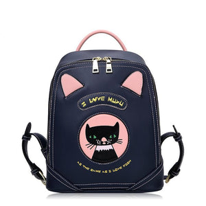 Designer Kitty Backpack - Bag Topic