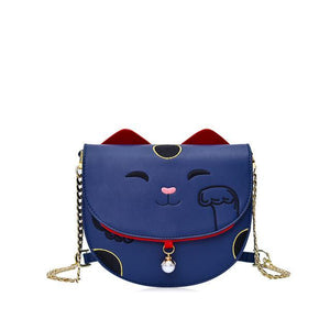 Come Here Kitty - Designer Crossbody Bags with Chains - Bag Topic