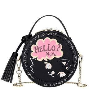 Miss Meow Adventure In Mind-  Hat Box Bag (Free shipping) - Bag Topic