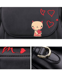 Give You My Love- Designer Kitty Crossbody Bags - Bag Topic