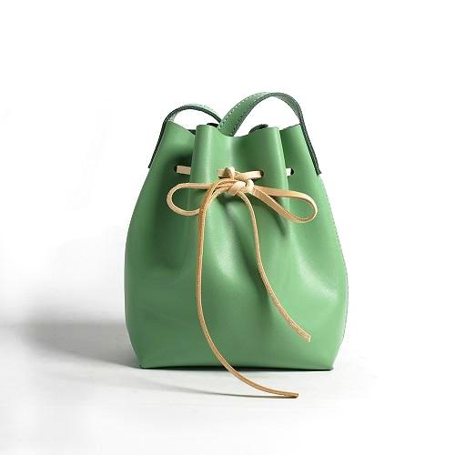 Pudding Bucket Bag-Green